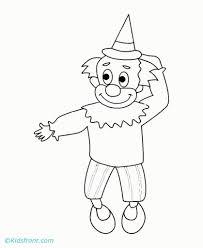the smiling joker online coloring sheet free for kids fun