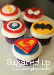 marvel cake toppers www sugareduptoppers fondant cupcake toppers by