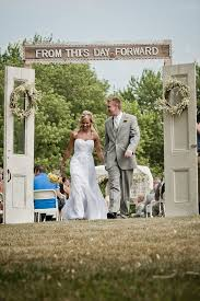 wedding backdrop rustic best 25 outdoor wedding doors ideas on country