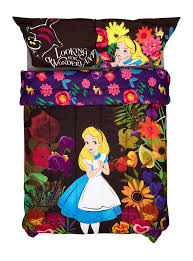 disney alice in wonderland alice in forest full queen comforter