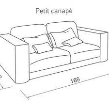 dimension d un canapé quelle taille pour mon canapé côté maison