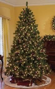 christmas tree prelit qvc pre lit christmas trees fishwolfeboro