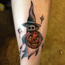halloween ghost pumpkin 11 spooky halloween tattoos tattoo piercings and tatting