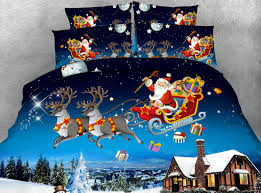 Christmas Duvet Cover Sets S X U0027mas Series 4pcs Twin Double Queen Super King Size Christmas