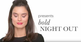 spring makeup tutorial bold night out by jane iredale u2014 crown