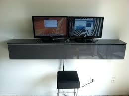 desk in wall computer desk sobuy folding wall mounted drop leaf