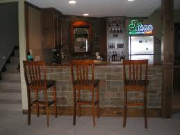 Home Bar Interior by Beautiful Basement Home Bar With Irish Pub Appeal Stone Veneer
