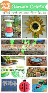 Garden Crafts Ideas Garden Craft Ideas For 23 Garden Crafts Activities For