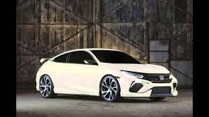 Honda Civic Usa 2016 Honda Civic Concept Potential Colors Youtube