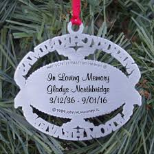 merry from heaven ornament personalized wish