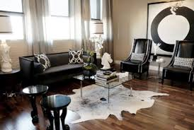 Black And White Home Decorating Ideas  Black And White Rooms - Black and white living room decor