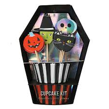 halloween cupcake kit by meri meri halloween cupcake liners