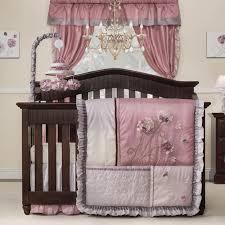 Nursery Bedding Sets by Kids Line Fleur 9 Piece Crib Bedding Set Walmart Com
