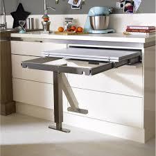 plan de travail escamotable cuisine table cuisine escamotable tiroir meuble avec newsindo co