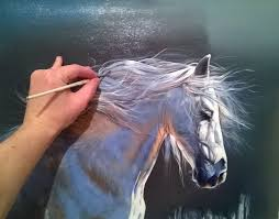 horse painting how to paint hyperrealistic youtube