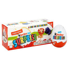 egg kinder kinder eggs 3 per pack from ocado