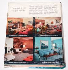 Better Homes And Gardens Decorating Book by 1950s Better Homes U0026 Gardens Decorating Binder Book W Mylar