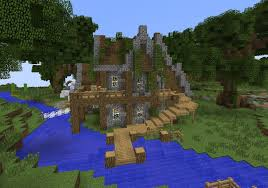 Rustic House Building With Grian Minecraft Rustic House Tutorial Youtube