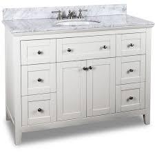 48 Inch Solid Wood Bathroom Vanity by 53 Best White Bathroom Vanities Images On Pinterest White