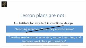lesson plan template for corporate trainers sustainable training