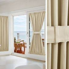 Blackout French Door Curtains French Door Curtains Ebay