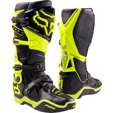 low cut motocross boots fox racing 2017 mx new instinct black flo yellow motocross boots