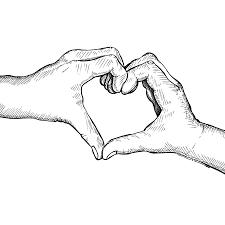 drawn hearts romantic pencil and in color drawn hearts romantic