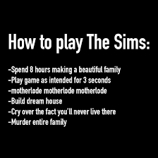The Sims Memes - the sims problems thesimsproblems twitter