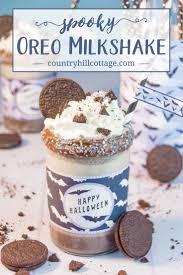 spooky oreo milkshake let u0027s kick off halloween country hill