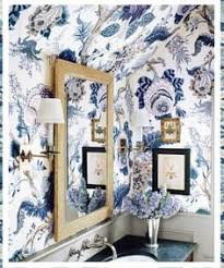 floral wallpaper french style interiors pinterest floral