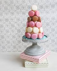 diy french macaron tower thirsty for tea