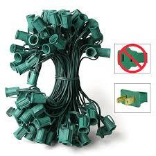 c9 light stringer green wire 50 ft