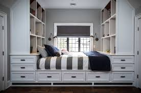 How To Customize A Closet For Improved Storage Capacity by How To Sneak In Creative Guest Room Storage