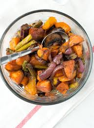 Roast Vegetable Recipe by Balsamic Honey Roasted Vegetables Nourished The Blog