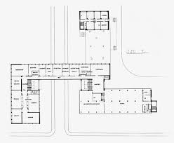 bauhaus building dessau 1925 1926 first floor plan 1 200