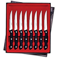 maxam kitchen knives maxam 8pc steak knife set home improvement