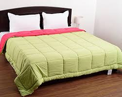 Hotel Quality Comforter Snoopy Home Ultra Soft Reversible Microfiber Red U0026 Apple Green