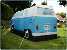 volkswagen light blue amazon com vw volkswagen t1 camper van camping tent blue