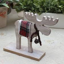 Reindeer Christmas Home Decor by Reindeer Christmas Gift For Young People Wooden Home Decoration