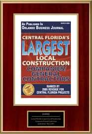 central florida s largest local construction companies general