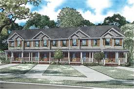 multi unit house plans multi unit house plans home plan 153 1253 the plan collection