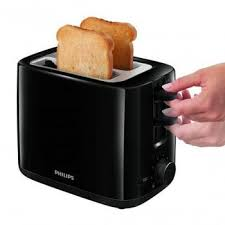 Next Toaster Philips 2 Slice Daily Collection Black Toaster Hd2595 90
