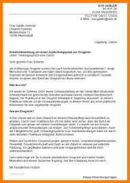 Bewerbungsschreiben Ferienjob Beispiel 6 bewerbung drogistin muster the curriculum