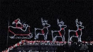 santa christmas lights gif find u0026 share on giphy