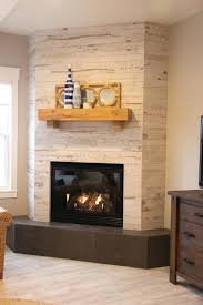 fireplace remodel tile over brick surround images feature wall