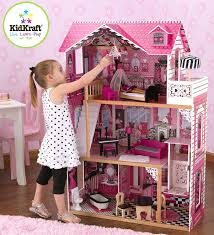 decor exciting pink kidkraft majestic mansion dollhouse 65252 on