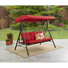 avoca 3 seat porch swing daybed by lautan ebay