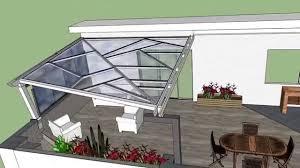 coperture tettoie in pvc tettoia in ferro e policarbonato compatto