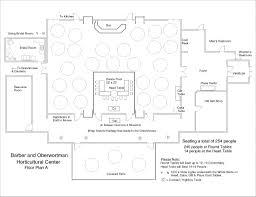 dance floor plan barber and oberwortmann horticultural center