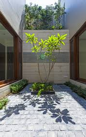 Courtyard Home Design Twin Courtyard House Charged Voids Archdaily